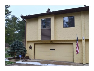849 Hampton Ridge Dr UNIT 849, Akron, OH 44313 - MLS#: 3960299