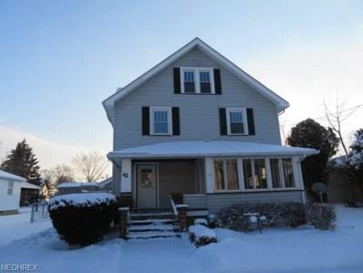 42 W Church St, Newton Falls, OH 44444 - MLS#: 3972026