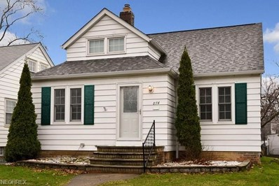 874 Quarry Dr, Cleveland Heights, OH 44121 - MLS#: 3978340