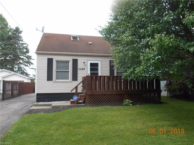 1345 Brighton Ave NORTHEAST, Warren, OH 44483 - MLS#: 4021105
