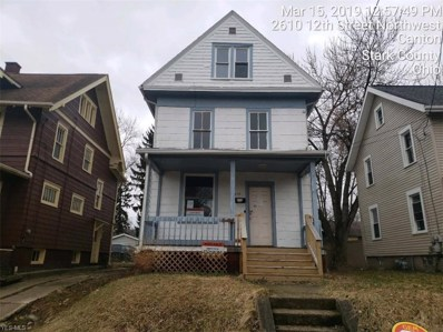 2612 12th St NORTHWEST, Canton, OH 44708 - #: 4078045