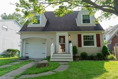 672 Johnson Avenue, Bedford, OH 44146 - #: 4114684