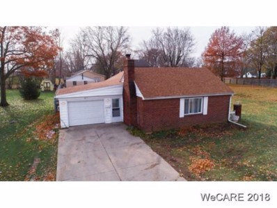 1837 Sara Lee Avenue, Cridersville, OH 45806 - MLS#: 110918