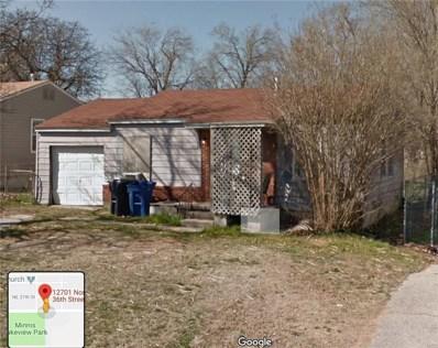 12701 NE 36th Street, Spencer, OK 73084 - #: 881201