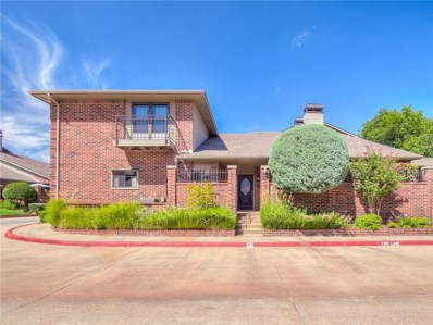 6206 Waterford Boulevard UNIT 60, Oklahoma City, OK 73118 - #: 882704