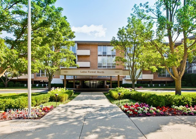 1301 N Western Avenue UNIT 101, Lake Forest, IL 60045 - #: 09744080