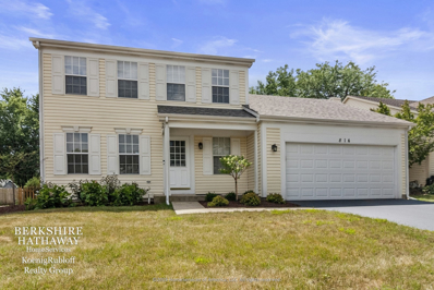 814 Thunderbird Trail, Carol Stream, IL 60188 - #: 10486827