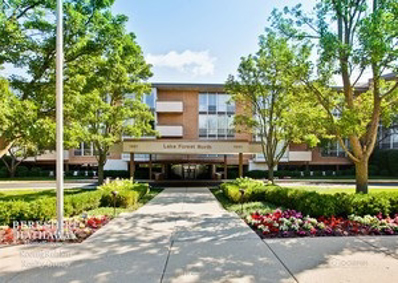 1301 N Western Avenue UNIT 104, Lake Forest, IL 60045 - #: 10502442