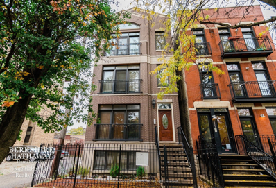1224 W Hubbard Street UNIT 3, Chicago, IL 60642 - #: 10572072