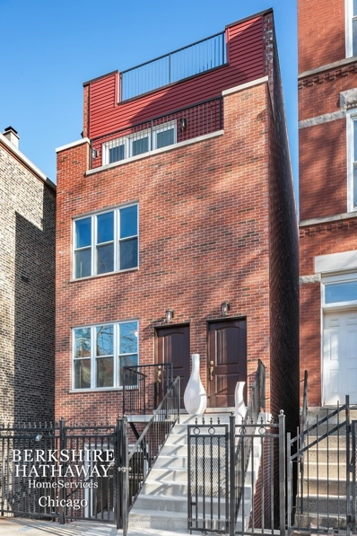 1309 N Bosworth Avenue #1, Chicago, IL 60642 - #: 10620167