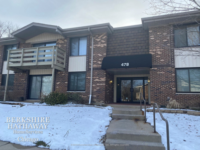 478 Raintree Court UNIT 1-B, Glen Ellyn, IL 60137 - #: 10633347