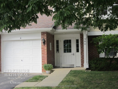 340 Ashbury Lane #4, Roselle, IL 60172 - #: 10812449