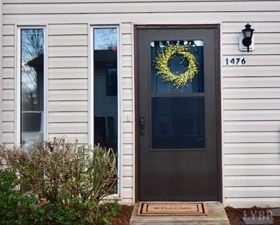 1476 Tenbury Drive, Lynchburg, VA 24501 - MLS#: 311351