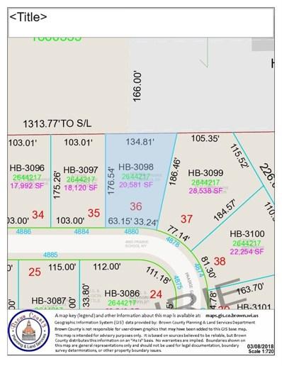 4880 Prairie School, Hobart, WI 54155 - MLS#: 50178739