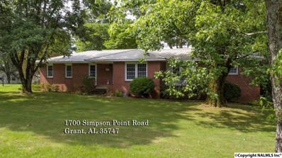 1700 Simpson Point Road, Grant, AL 35747 - #: 1103375