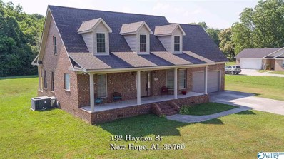192 Hayden Street, New Hope, AL 35760 - #: 1120207