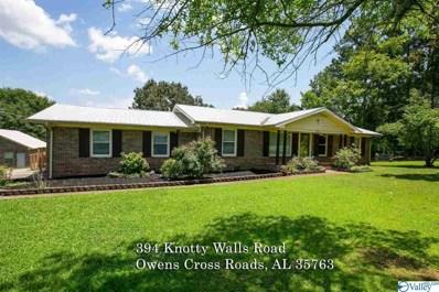 394 Knotty Walls Road, Owens Cross Roads, AL 35763 - MLS#: 1786979