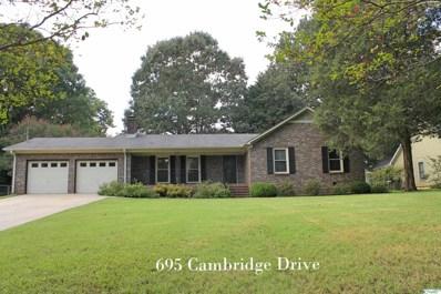 695 Cambridge Drive, Madison, AL 35758 - MLS#: 1791195