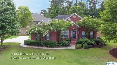 4404 Hidden Lake Drive, Owens Cross Roads, AL 35763