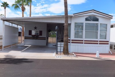 3710 S Goldfield Road Unit 543, Apache Junction, AZ 85119 - MLS#: 5503433