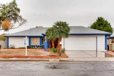 4515 W Brown Street, Glendale, AZ 85302 - MLS#: 5724076