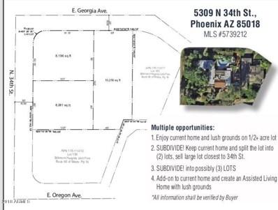 5309 N 34TH Street, Phoenix, AZ 85018 - #: 5739212