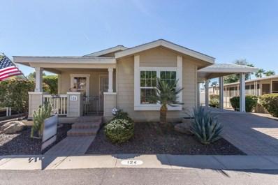 201 S Greenfield Road Unit 124, Mesa, AZ 85206 - MLS#: 5740070