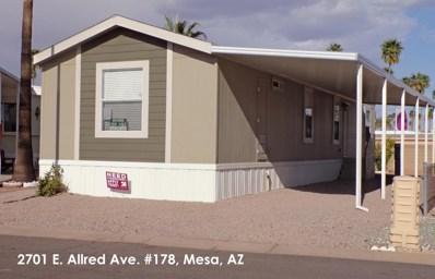 2701 E Allred Avenue Unit 178, Mesa, AZ 85204 - MLS#: 5759515