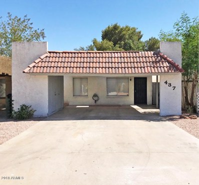437 E Royal Palms Drive, Mesa, AZ 85203 - MLS#: 5773644