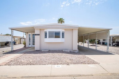 2100 N Trekell Road Unit 43, Casa Grande, AZ 85122 - MLS#: 5801564