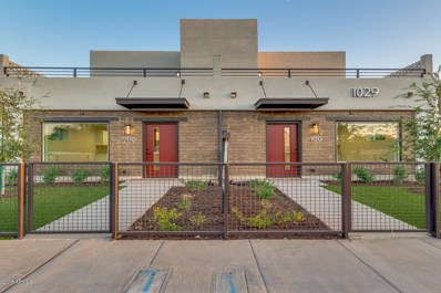 1029 E Roosevelt Street Unit 100, Phoenix, AZ 85006 - MLS#: 5807843