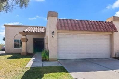 1930 S Westwood -- Unit 42, Mesa, AZ 85210 - MLS#: 5822754