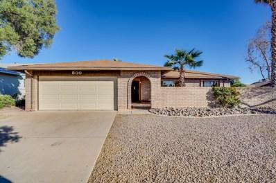 800 W Bell De Mar Drive, Tempe, AZ 85283 - MLS#: 5842696