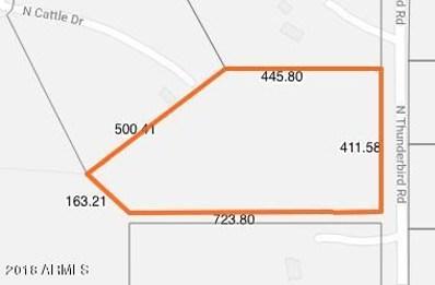 12940 N Thunderbird Road, Maricopa, AZ 85139 - MLS#: 5844795