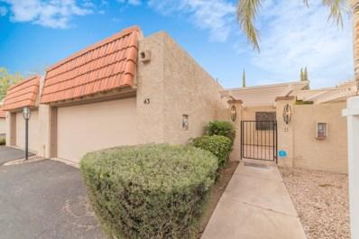 5100 N Miller Road UNIT 43, Scottsdale, AZ 85250 - #: 5883598