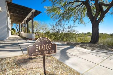56003 N Vulture Mine Road, Wickenburg, AZ 85390 - #: 5933152