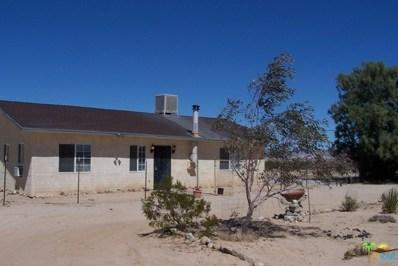 133 Cascade Road, Joshua Tree, CA 92252 - MLS#: 18328416PS