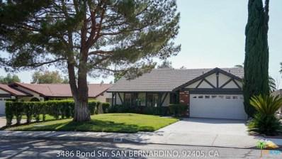 3486 Bond Street, San Bernardino, CA 92405 - MLS#: 18375502PS