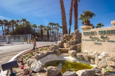 15500 Bubbling Wells Road UNIT 54, Desert Hot Springs, CA 92240 - MLS#: 18376586PS