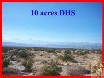 0 10 Acres Off Little Morongo, Desert Hot Springs, CA 92240 - MLS#: 21406650