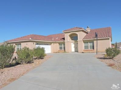 57188 Juarez Drive, Yucca Valley, CA 92284 - MLS#: 218000818