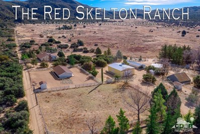 61489 Burnt Valley Road Road, Anza, CA 92539 - MLS#: 218001928