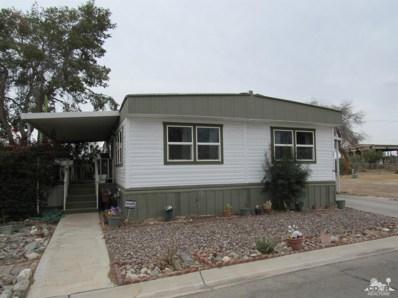3600 Colorado River Road UNIT 56, Blythe, CA 92225 - MLS#: 218009578