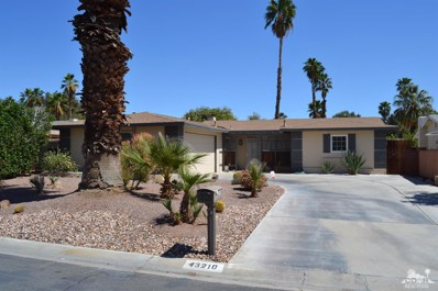 43210 Virginia Avenue, Palm Desert, CA 92211 - MLS#: 218010198