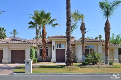 75255 Desert Park Drive, Indian Wells, CA 92210 - MLS#: 218016252