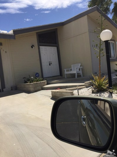 65565 Acoma Avenue UNIT 115, Desert Hot Springs, CA 92240 - MLS#: 218016726