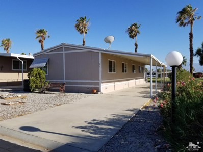 15500 Bubbling Wells Road UNIT 71, Desert Hot Springs, CA 92240 - MLS#: 218019198