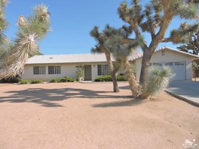 57805 El Dorado Drive, Yucca Valley, CA 92284 - MLS#: 218019256