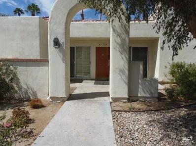 43714 Avenida Alicante UNIT 403-3, Palm Desert, CA 92211 - MLS#: 218024404