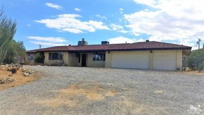 58345 Desert Gold Drive, Yucca Valley, CA 92284 - MLS#: 218030690